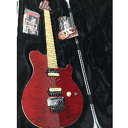 ERNIE BALL MUSIC MAN AXIS USA Translucent Red 専用ハードケース付