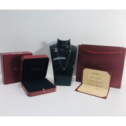 カルティエ / Cartier 1Pダイヤモンド 0.09ct ディアマン レジェ ネックレス SM K18WG
