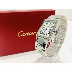 Cartier / カルティエ タンク ソロ LM W5200014 メンズクオーツ腕時計