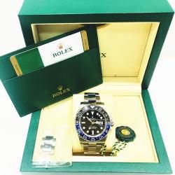 ROLEX ロレックス GMTマスター2 Ref:116710BLNR ランダム 2017年購入品