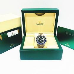 ロレックス / ROLEX GMTマスター2 Ref:116710BLNR 2017年製 プレミア品