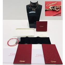 Cartier/カルティエ ブレスレット コットンコード ラブスリーフープ K18/750 ダイヤモンド【箱・保証書等付属品完備!!】