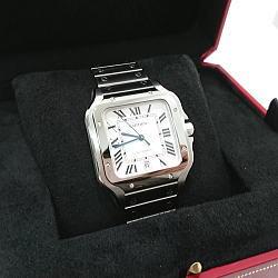 Cartier サントス ドゥ カルティエ ウォッチ WSSA0009 LMサイズ メンズ自動巻き腕時計
