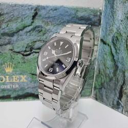 ROLEX / ロレックス エクスプローラーI Ref.114270 Y番 箱、ケース、ギャランティ、ベゼルカバー等付属