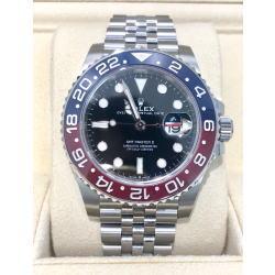 ロレックス GMTマスターⅡ 126710BLRO ジュビリーブレスレット ブラック