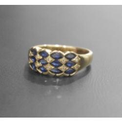 質預り・買取り品-宝石,金 サファイア 指輪