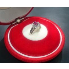 質預り・買取り品-プラチナ,宝石 ルビー 指輪