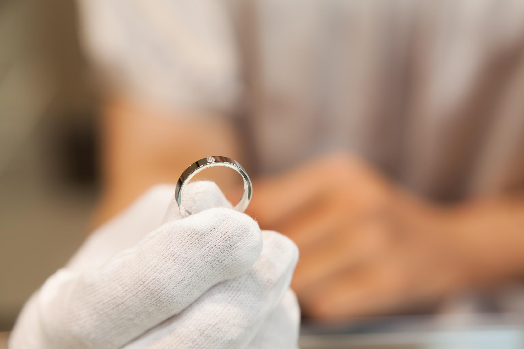 指輪の査定